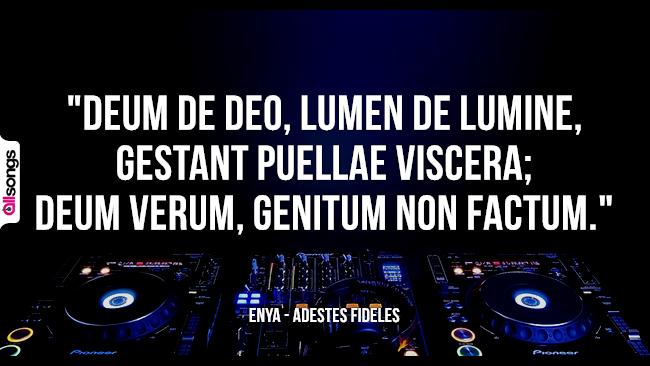 Enya: le migliori frasi dei testi delle canzoni