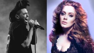 Classifica USA 28 ottobre 2015, The Weeknd primo ma l'ombra di Adele incombe