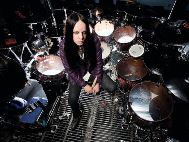 L'ex batterista degli Slipknot Joey Jordison