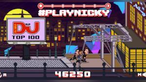 Nicky Romero nel suo gameplay