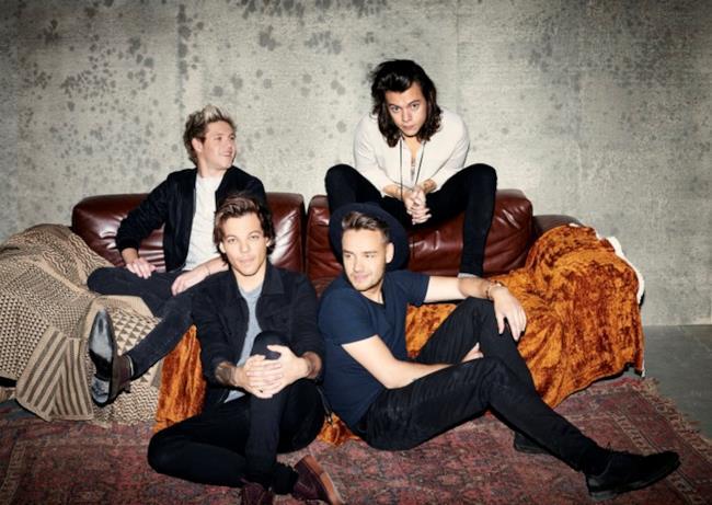 I 4 membri degli One Direction sulla copertina di Made in the A.M.