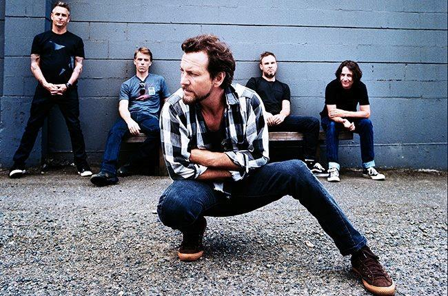 Eddie Vedder e i Pearl Jam