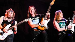 Smith, Murray e Gers degli Iron Maiden
