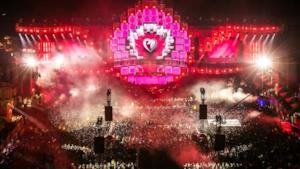 Gli spazi del prossimo Electric Love Festival tra le montagne dell'Austria