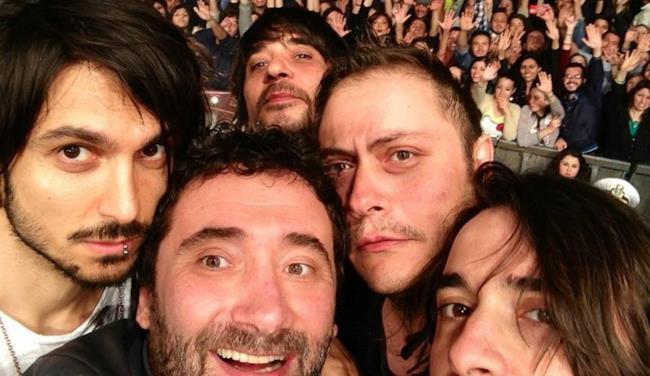 Tiromancino live 2014 a Milano in piazza Duomo