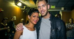 Calvin Harris e la cantante Rihanna