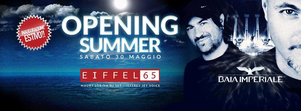 Eiffel 65 all'opening party della Baia Imperiale