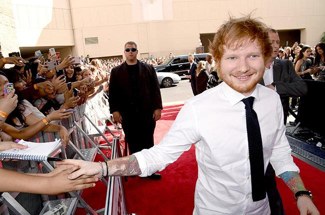 Ed Sheeran è rimasto a mani vuote ai Billboard Music Awards 2015