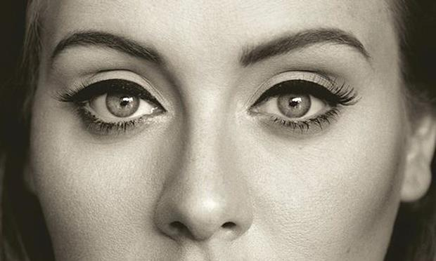 Adele sulla copertina dell'ultimo album 25