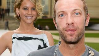 Chris Martin e Jennifer Lawrence