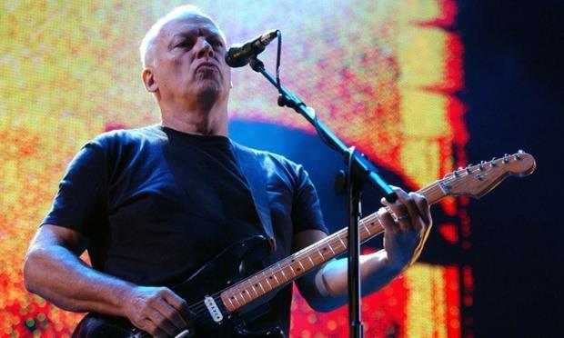 David Gilmour chitarrista dei Pink Floyd