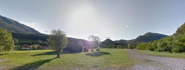 Il campo di Barzio, il luogo dove sorgerà il Nameless Park
