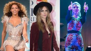 Beyoncé, Cara Delevingne e St. Vincent