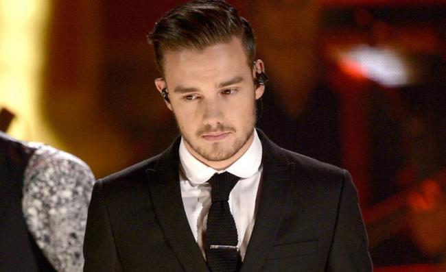 Liam Payne con sguardo triste