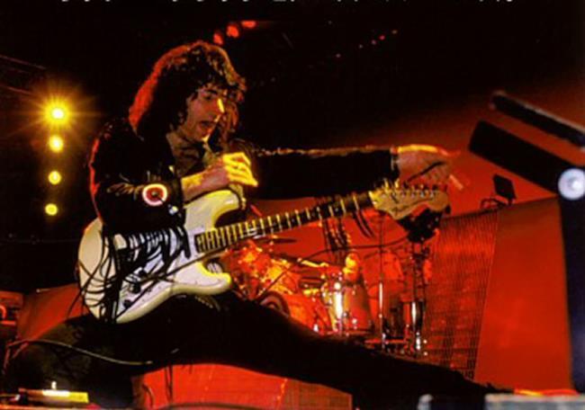 Ritchie Blackmore ai tempi dei Rainbow
