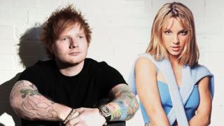 Ed Sheeran e Britney Spears