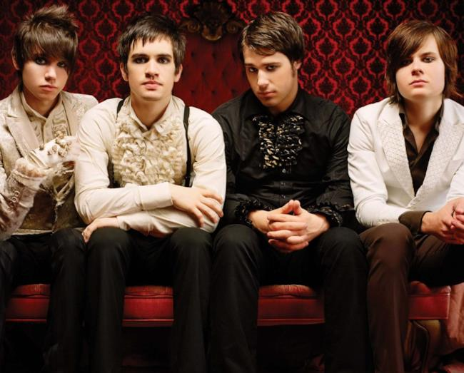 La band Panic! At The Disco