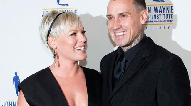 Pink e il marito Carey Hart