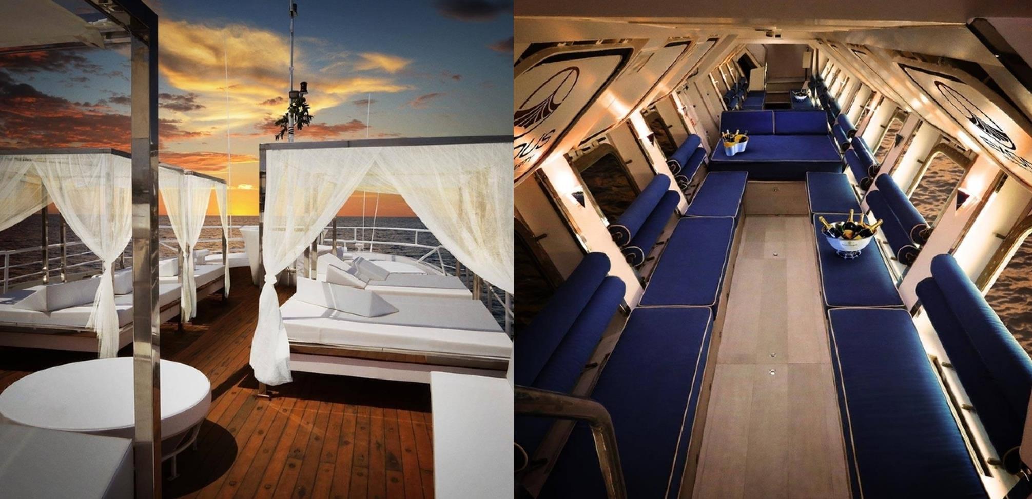 The Exodus, la lussuosa nave da crocera, nuova attrazione di Ibiza
