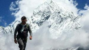 Il dj inglese sull'Everest