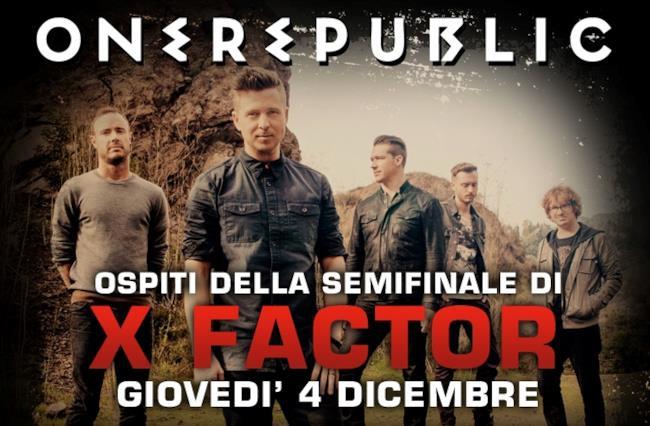 I OneRepublic a X Factor 8