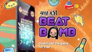 Un'immagine del gioco di Steve Aoki