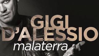 Gigi D'Alessio sulla copertina del nuovo album Malaterra