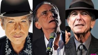 Nobel Letteratura 2013: candidati Roberto Vecchioni, Bob Dylan e Leonard Cohen?