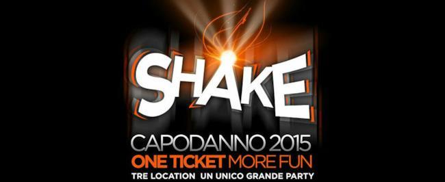 Lo Spazio Novecento è pronto ad ospitare il Capodanno 2015 Shake, tre location con un biglietto.