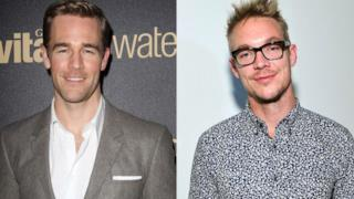James Van Der Beek nella serie tv di Diplo