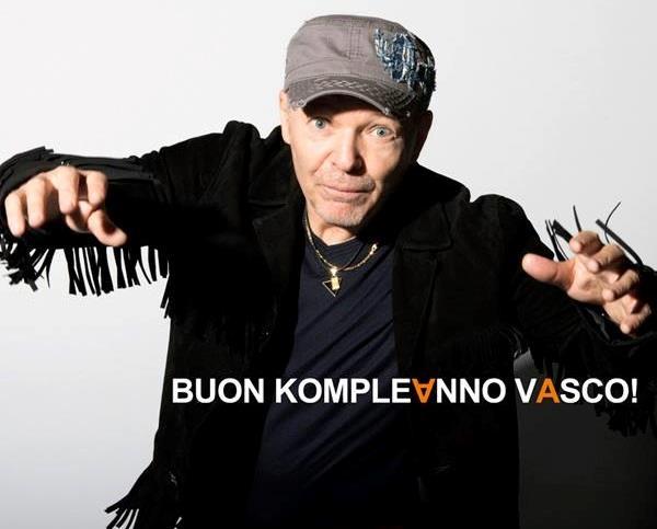 Buon compleanno a Vasco Rossi