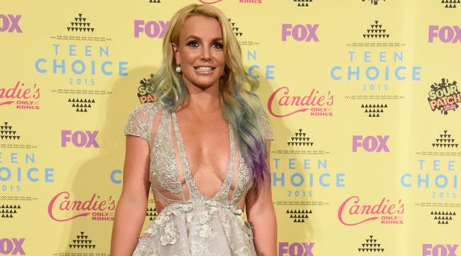 Britney Spears ai Teen Choice Awards 2015