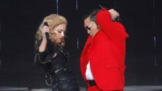 Madonna e Psy in Gangnam Style [FOTO]