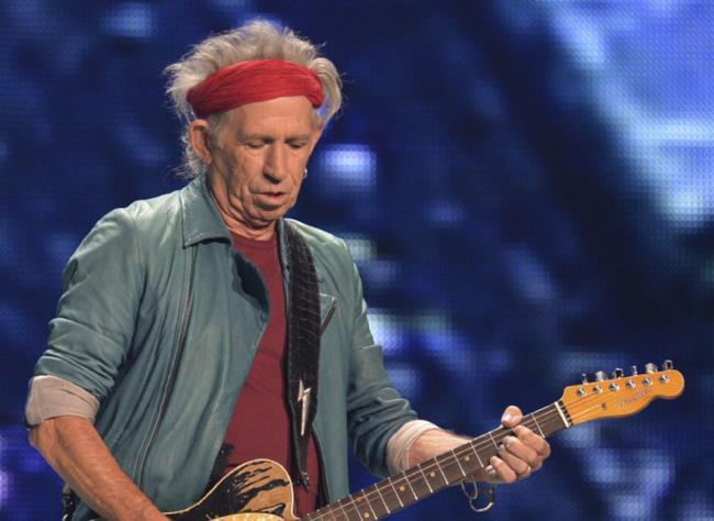 Keith Richards, chitarrista dei Rolling Stones