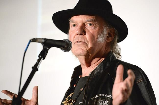 Neil Young ai Grammy Awards 2014 a Los Angeles