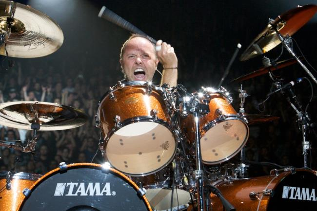 Lars Ulrich, batterista dei Metallica