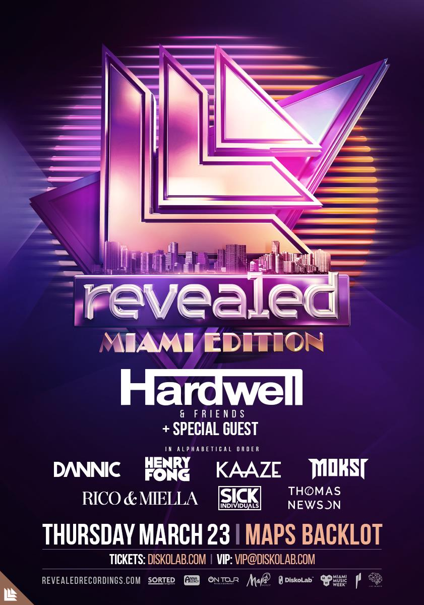 Revealed Miami Edition 2017 @ MAPS BLACKLOT