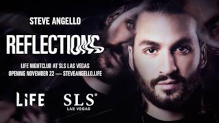 """Steve Angello annuncia Reflections, un nuovo modo di concepire la """"NightLiFE"""""""