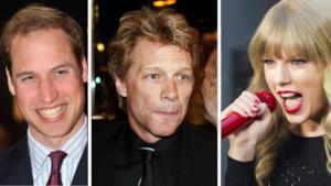 Taylor Swift ricorda di quando lei, Jon Bon Jovi e il Principe William avevano cantato insieme