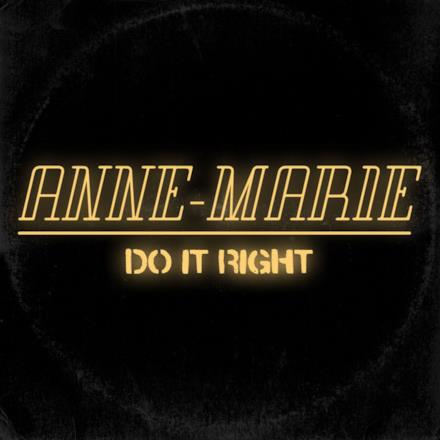 Do It Right - Single