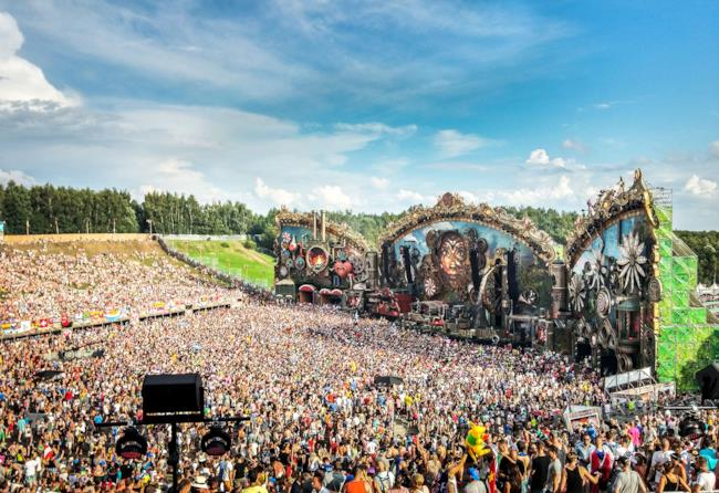 Panoramica di Tomorrowland