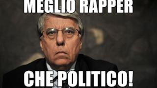 Giovanardi meme: meglio rapper che politico!