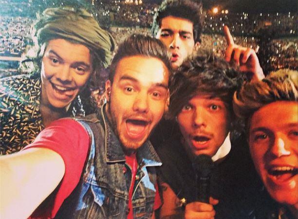 One Direction selfie allo stadio San Siro di Milano