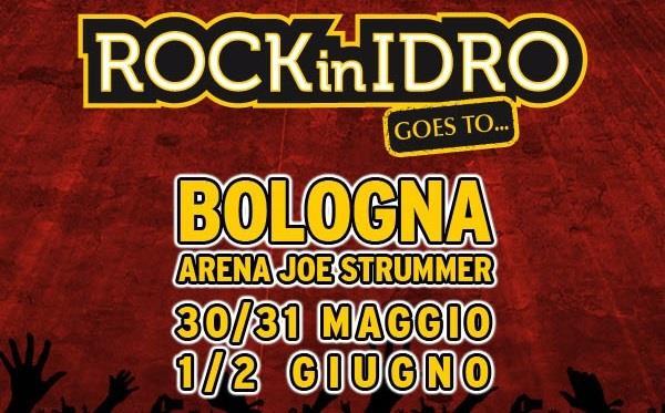 Locandina Rock in Idro 2014 a Bologna