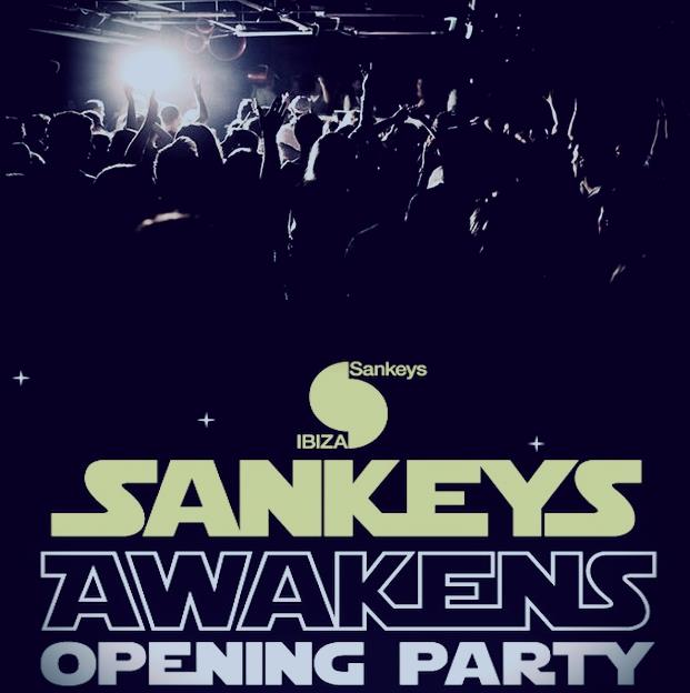 Sankeys Awakens, il party inaugurale del locale ibizenco