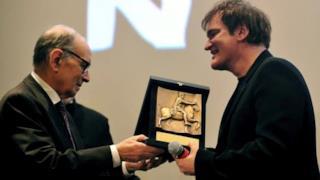 Ennio Morricone e Quentin Tarantino