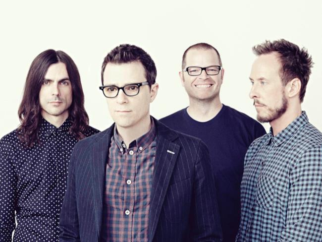 Il gruppo rock californiano Weezer