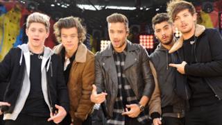 I One Direction al completo sul palco
