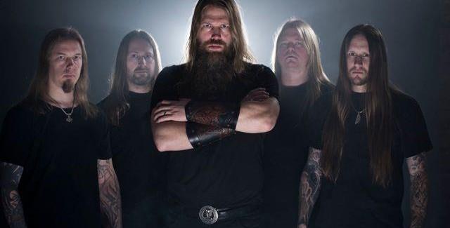 Il gruppo metal svedese Amon Amarth