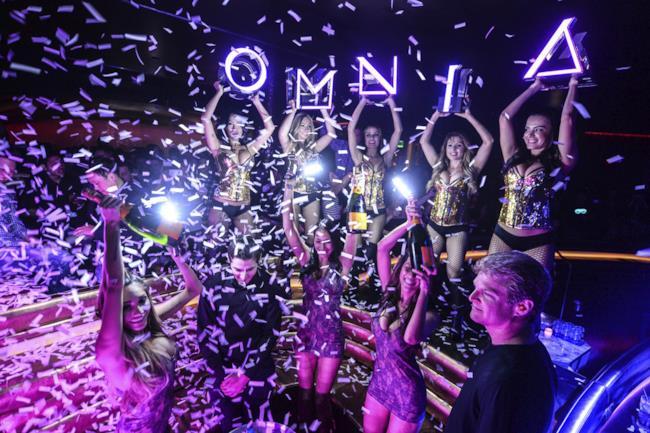 Justin Bieber ha festeggiato all'Omnia Nightclub il suo ventunesimo compleanno